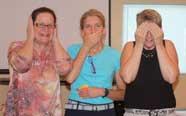 Julie, Cindy, and Nancy