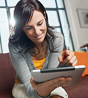 woman-tablet