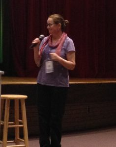 Julie Streeter at OMHS 2016
