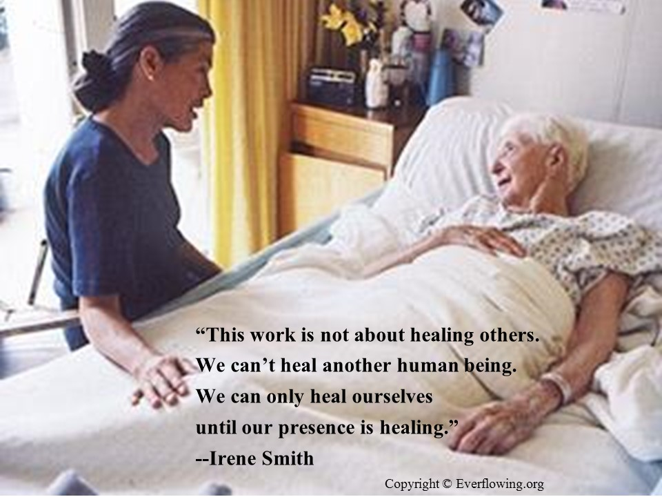 Irene Smith Quote Copyright Everflowing.org